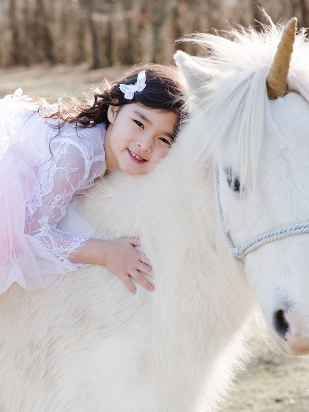 Cora - A Unicorn Session | North MS Lifestyle Photographer