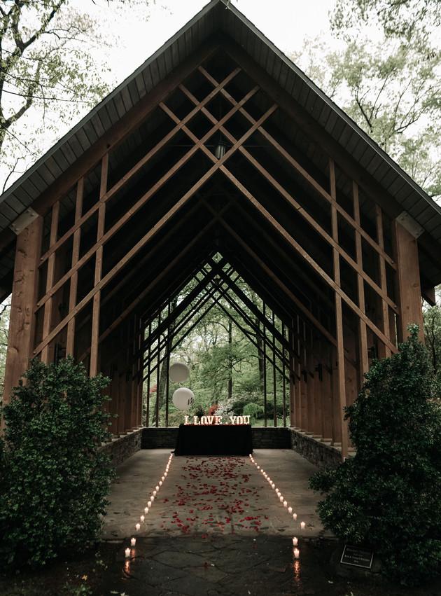 Viren + Cayla - A Botanic Garden Proposal | Memphis Engagement Photographer