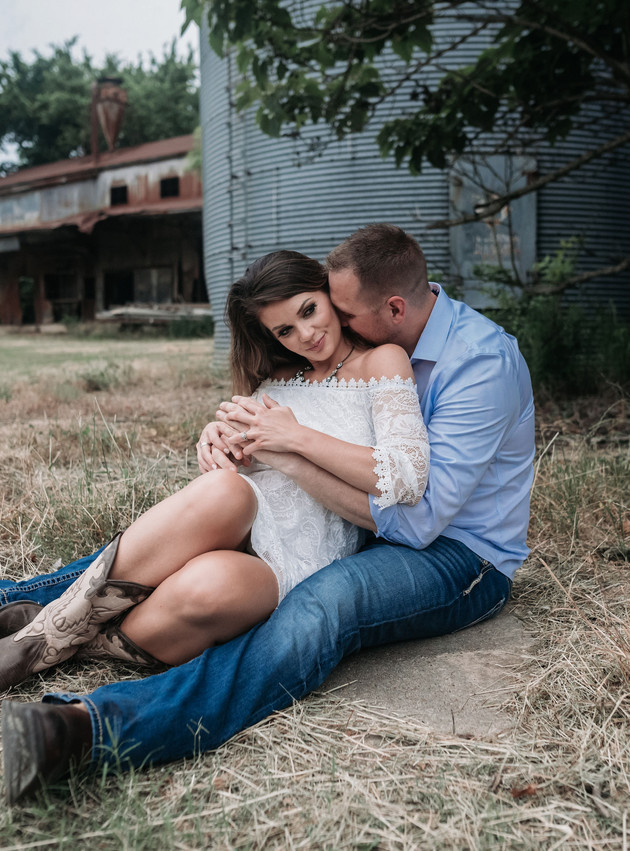 Evan + Kathy - A Rustic Engagement Session