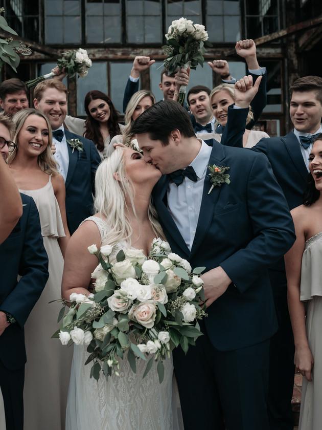 Carlee + Brandon Bell   The Jefferson Oxford   North MS Wedding Photographer