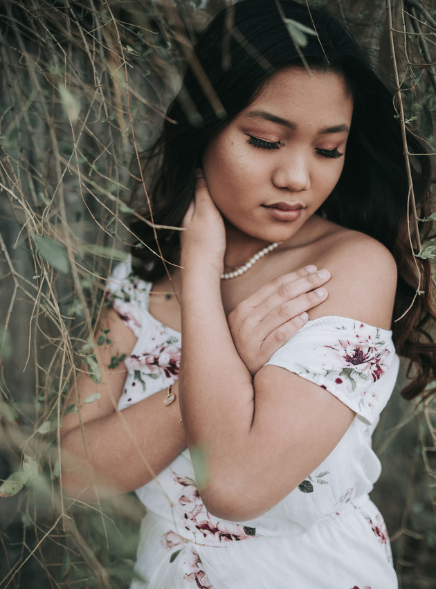 Thavia - A Moody Portrait Session | North MS Lifestyle Photographer