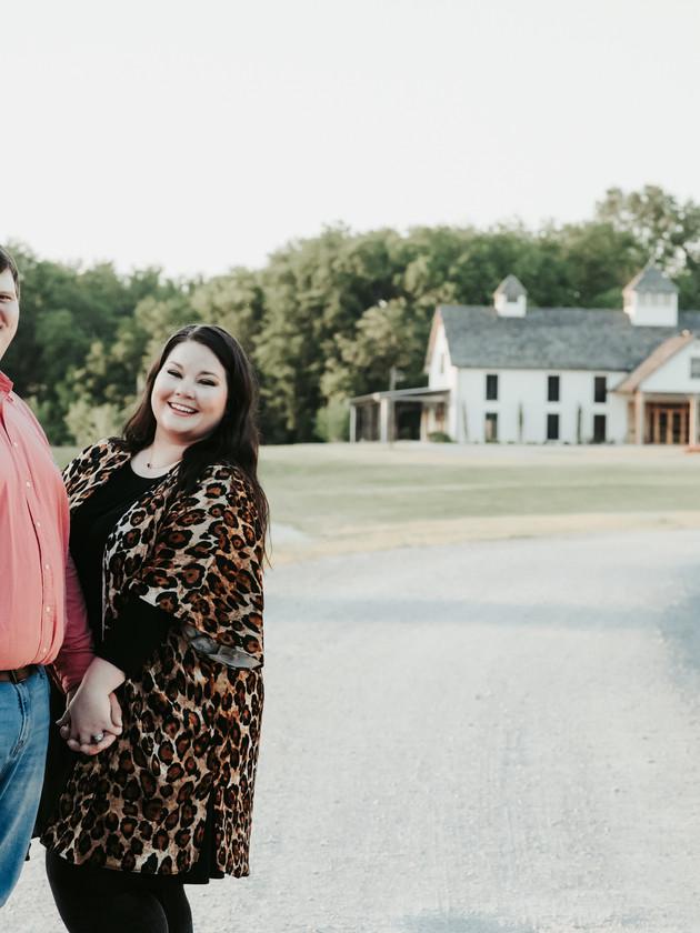 Blakeney + Tyler - Engaged   Bridlewood of Madison   North MS Engagement Photographer