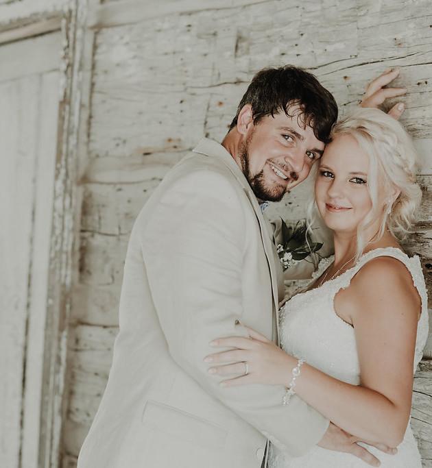 Samantha + George | Mason Wedding | North MS Wedding Photographer