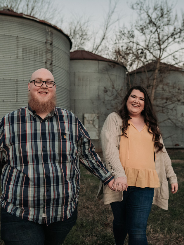 Travis + Paige - Engaged | North MS Engagement Photographer