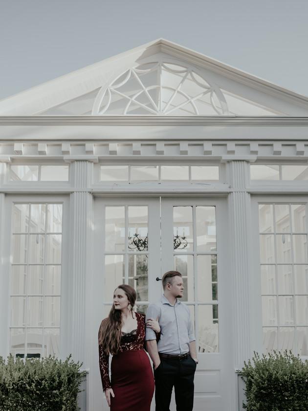 Samantha + Ben - Engaged   Heartwood Hall   Memphis Engagement Photographer