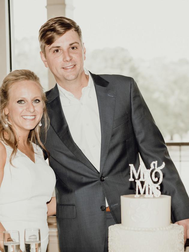 Mr. & Mrs. Biggam   A Germantown Country Club Reception   Memphis Wedding Photographer