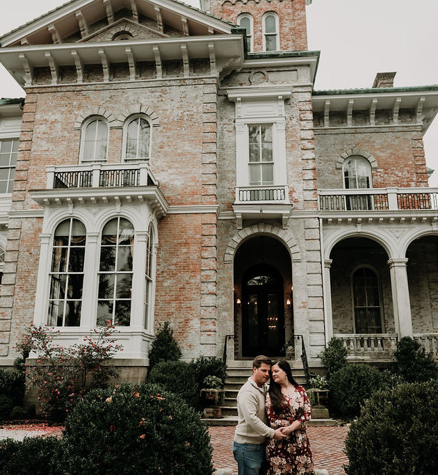 Heather + Brian | Annesdale Engagement Session | Memphis Wedding Photographer