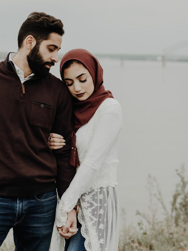 Hadeal + Yasser - Engaged | Memphis Engagement Photographer
