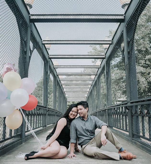 Jessica + Jayvee - Engaged   Memphis Engagement Photographer