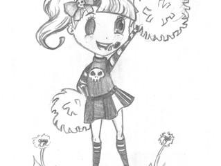 Go Ghouls! Undead Cheerleader