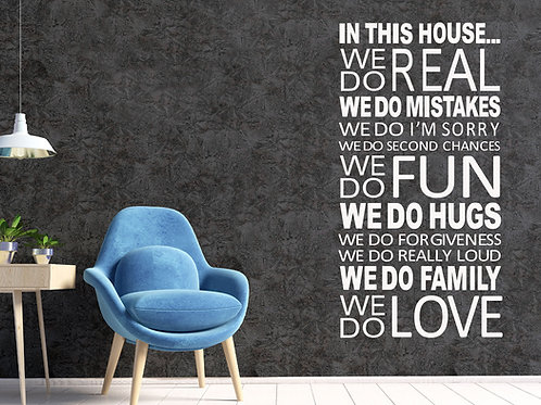 In this house quote