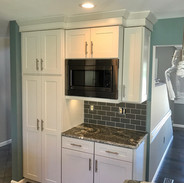 Pantry and microwave area