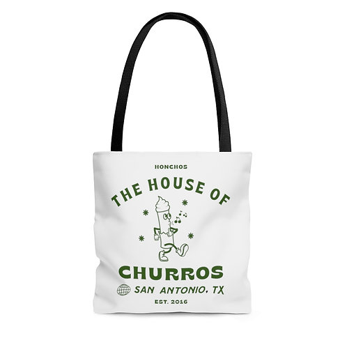 Whistling Churro AOP Tote Bag