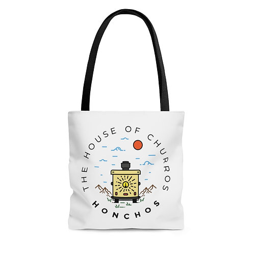 On the Road Again AOP Tote Bag