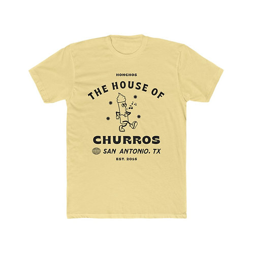 Whistling Churro Design Men's Tee