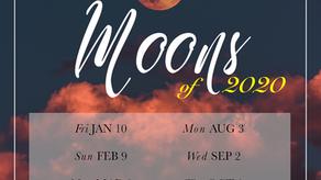 Full Moon Dates of 2020
