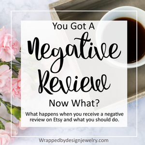 Relax. A negative review isn't the end of the world.