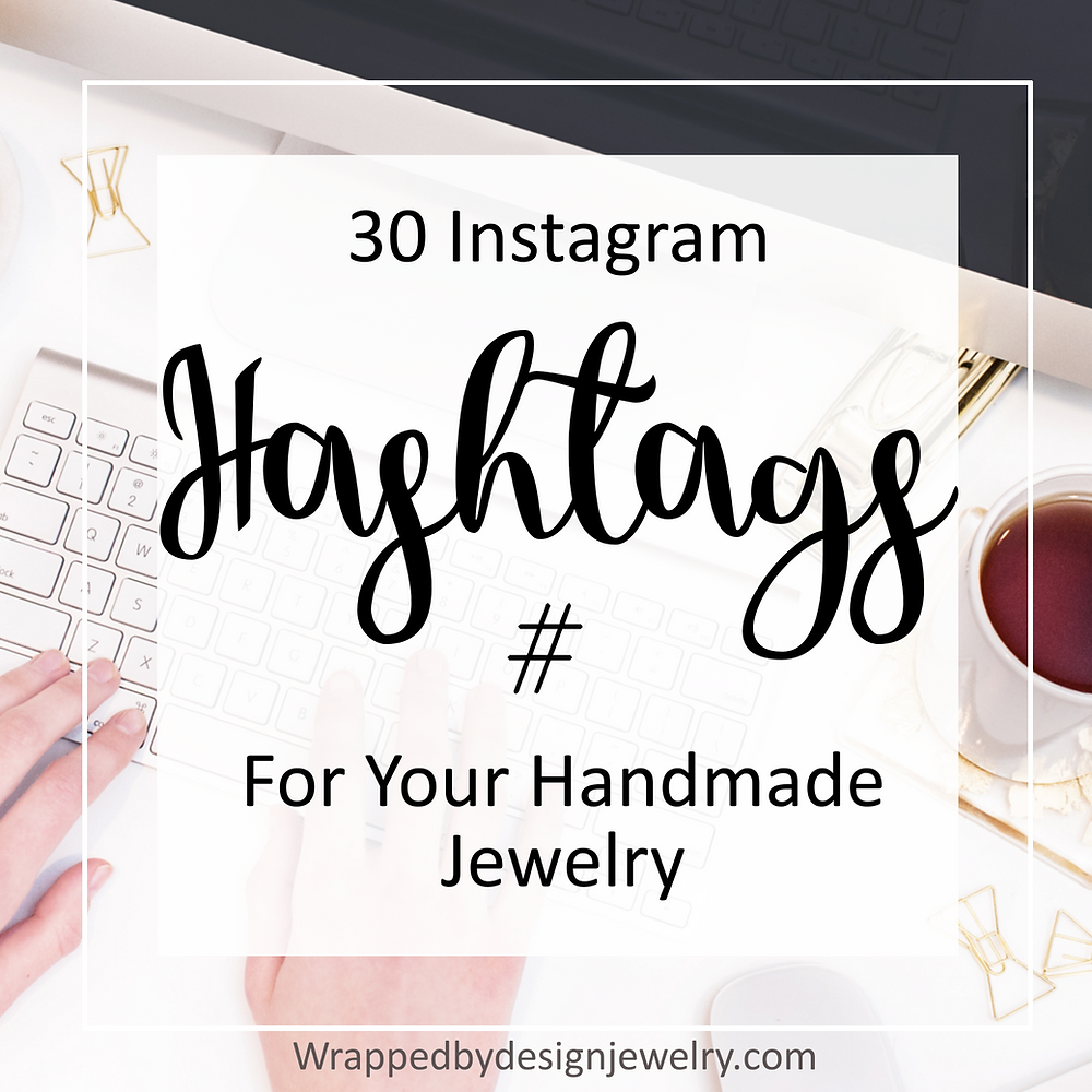 hashtags for handmade jewelry