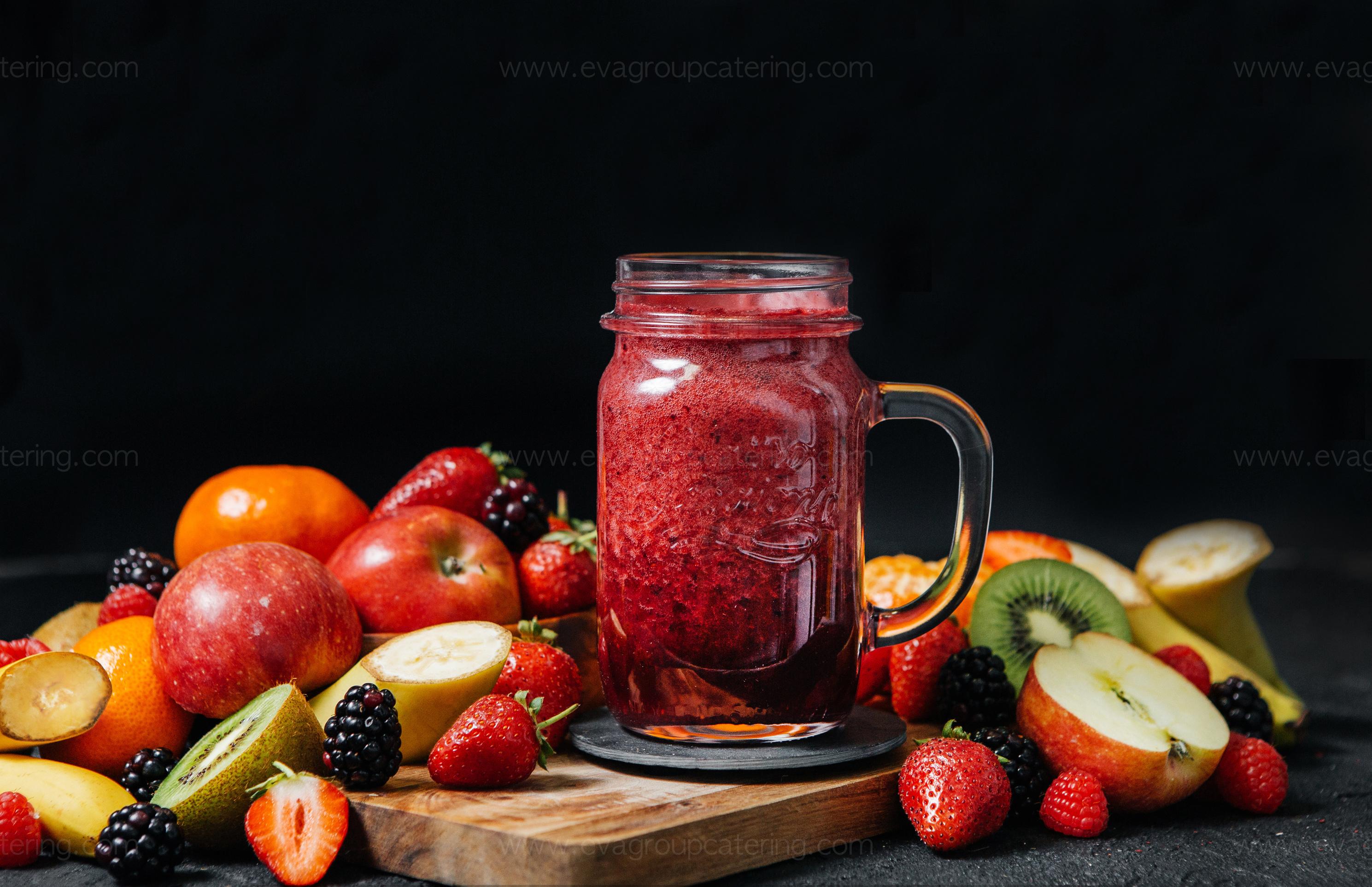 Смузи Лесные ягоды