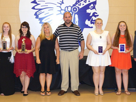 LHS Bandsmen Recognized at Annual Band Banquet