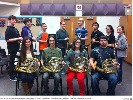 Solo and Ensemble Contest Results