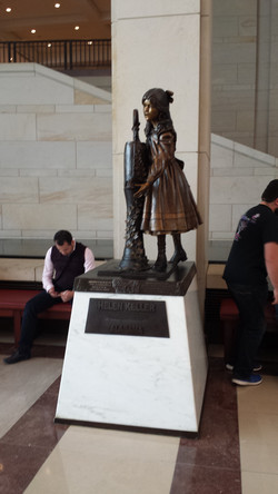 Helen Keller Statue
