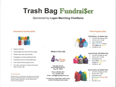 Trash Bag Fundraiser