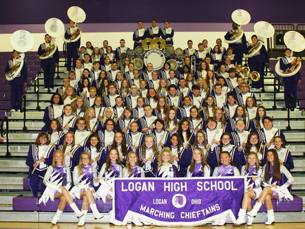 "The 2017-2018 ""On A Mission To Keep Our Tradition"" Marching Chieftains"