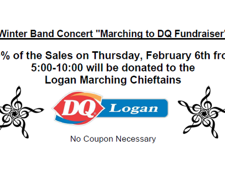 Marching to DQ Fundraiser