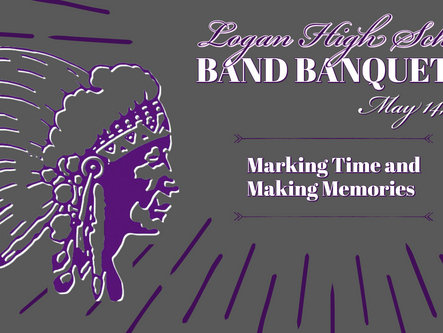 Band Banquet  Awards Presented