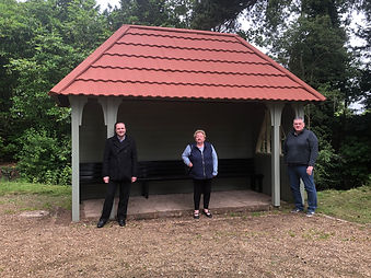 Shelter rebuilt after two years