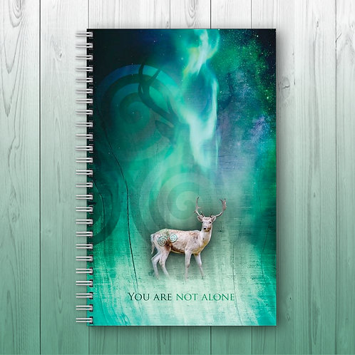 'You are Not Alone' - Personalised Notebook