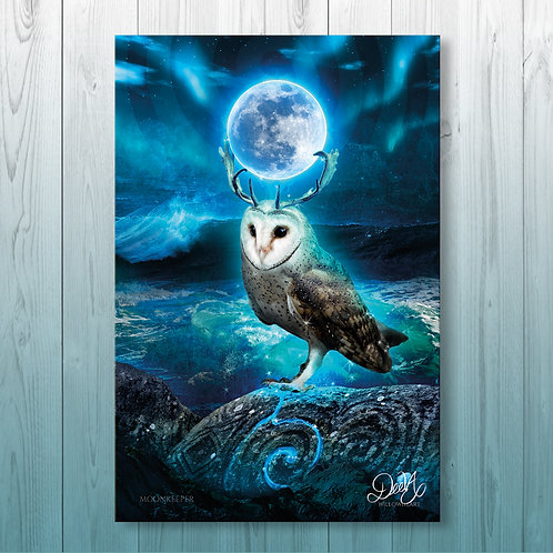 'Moonkeeper' Canvas - 40x60cm