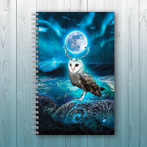 'Moonkeeper' - Personalised Notebook