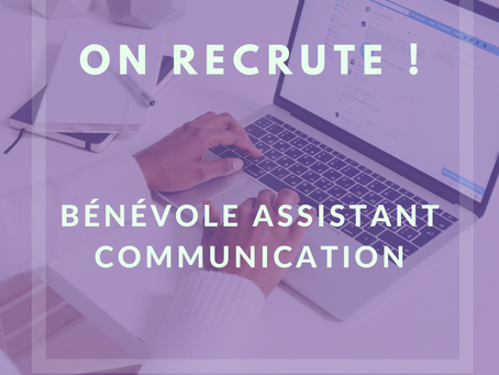 On recrute ! Assistant communication