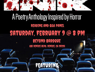 DARK INK is Still Going Strong! Two Upcoming Readings and a Great Interview is Up on HorrorHomeRoom.