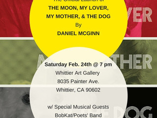 Daneil McGinn's THE MOON, MY LOVER, MY MOTHER, & THE DOG is Here!
