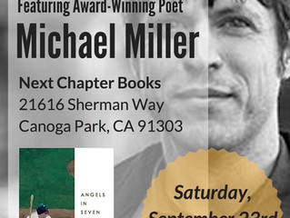Michael Miller Reads at Next Chapter Books in Canoga Park
