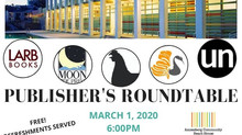 Publisher's Roundtable at the Annenberg Community Beach House Sunday, March 1st.