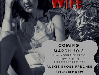Alexis Rhone Fancher's New Chapbook, JUNKIE WIFE, is Hot Off the Press!