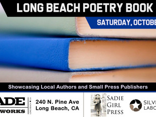 Moon Tide Press Will Be at the Long Beach Poetry Book Fair on Saturday, October 20th.