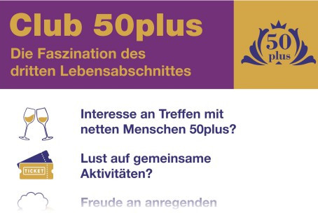 Club 50plus startet