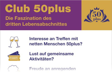 Club 50plus startet