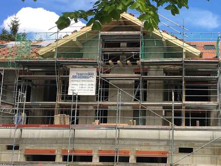 Eröffnung im Herbst steht: Bau der Tagespflege in Bad Wiessee schreitet voran