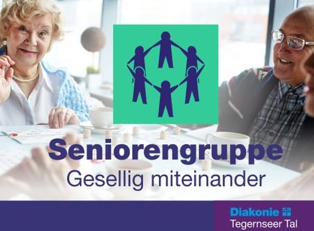 Seniorennachmittag am 12. Mai 2020 in Gmund abgesagt