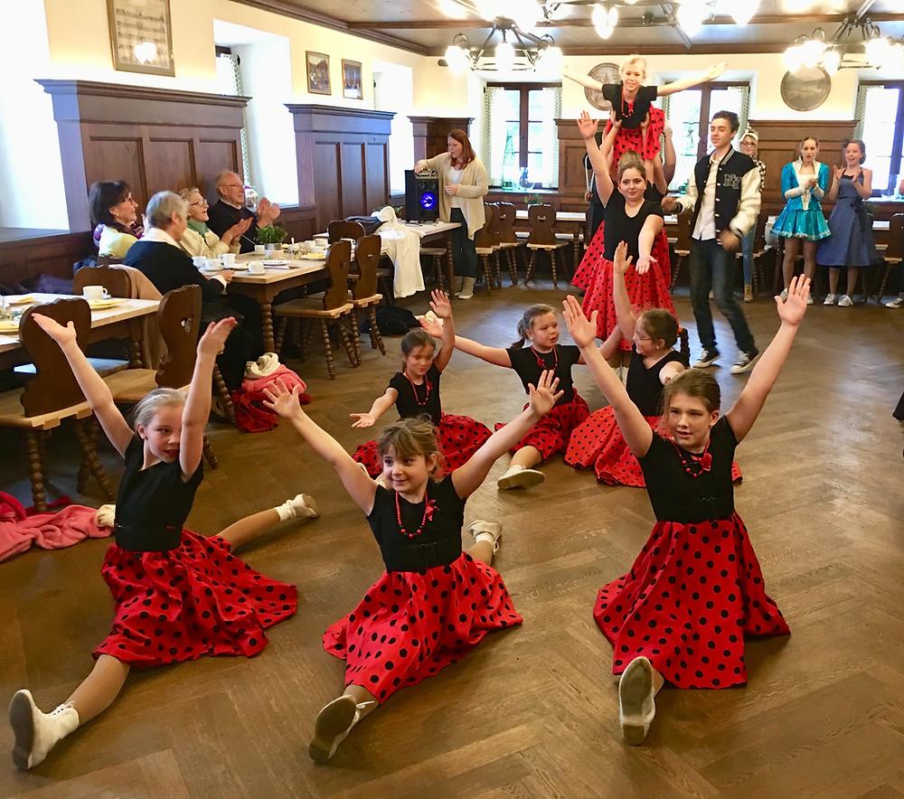 Foto von der Kindergarde Seegeister Gmund