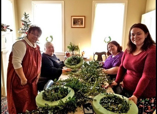 The Wreath Making Lesson~