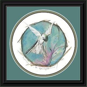 The Hummingbird Framed.jpg