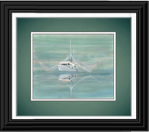 The Shrimp Boat Framed.jpg