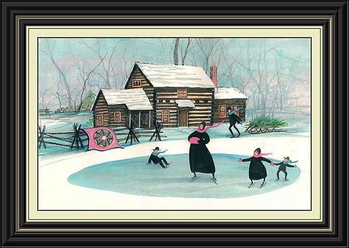 Winter's Memories Framed.jpg